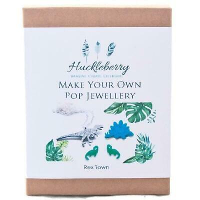 NEW Make Your Own Pop Jewellery Kit - Rex Town