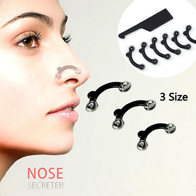 1Set Nose Up Lifting Shaping ClipsClipper No Pain Shaper Beauty Tool 3 Size Chic