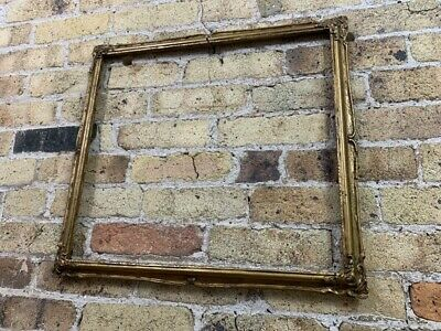 Vintage Rococo / Baroque Gold Gilt Wooden Picture Frame, Large to Medium