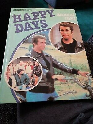 Happy Days Annual 1981 X EXCELLENT CONDITION FOR AGE X EXTREMELY RARE X 2207N X