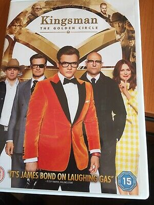 Kingsman: The Golden Circle DVD (2018) Taron Egerton