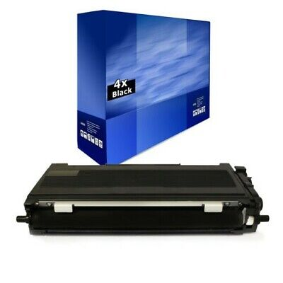 4x Europcart Toner XXL Compatible with Brother HL-L-2380 HL-L-2321 MFC-L-2703