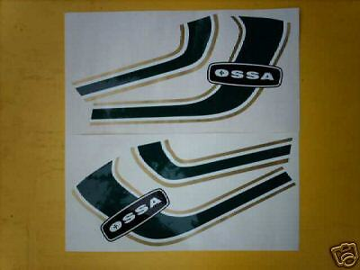 Ossa MAR Tank & sidepanels adhesive decal kit-Trials