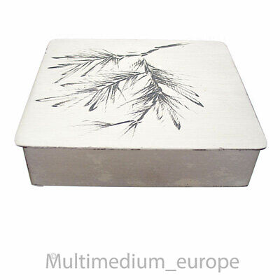 Art Deco WMF Metall Schatulle vintage Holz metal wood box Bienenkorb 🌺🌺🌺🌺🌺