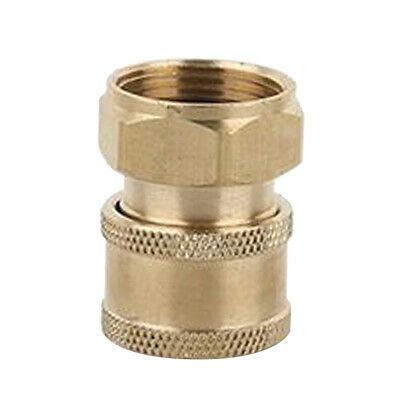 2xQuick Release Connector Coupler Fitting for High Pressure Washer Hose A+D