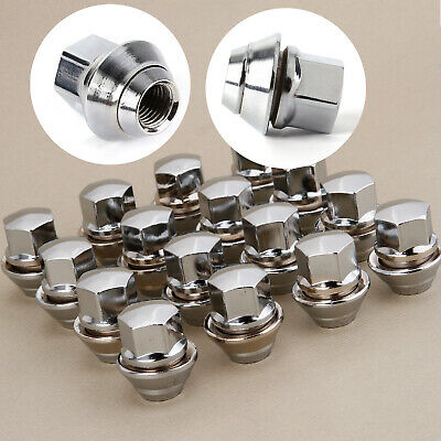 Pack of 16 Replacement Wheel Nuts M12 x 1.5 With Washer Alloy Wheels