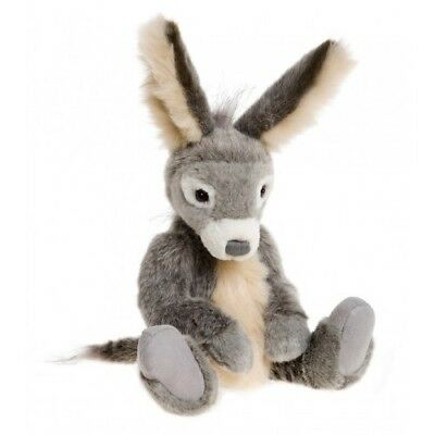 SPECIAL OFFER! Charlie Bears 2016 DESMOND Donkey - RRP £48 (Brand New Stock!)