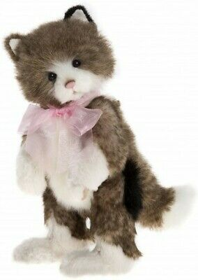 SPECIAL OFFER! 2017 Charlie Bears DAPHNE Cat (Brand New Stock!) RRP £50