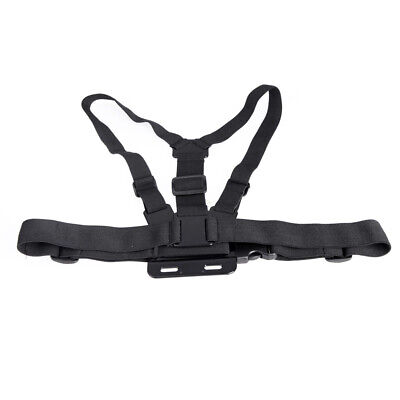 Adjustable Chest Belt Body Strap Mount Harness For GoPro Hero 1 2 3 3+ 4 W3B7