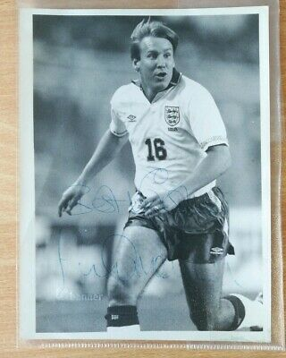 Paul Merson- England signed photo