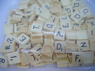 Job Lot 260+ Scrabble Tiles Letters Various Years Bundle Craft Jewellery Art