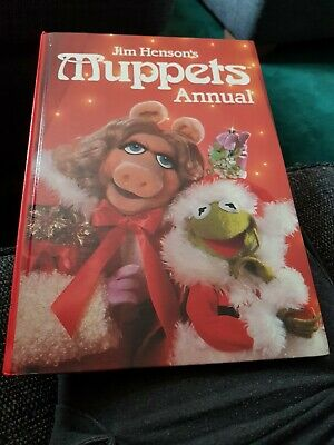 Muppets Annual 1984 X EXCELLENT CONDITION FOR AGE X VERY RARE X 2214N X