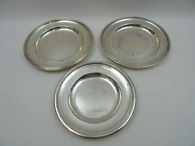 3 Mappin And Webb Silver Plate Pin Dishes Key Dishes Letter Dishes
