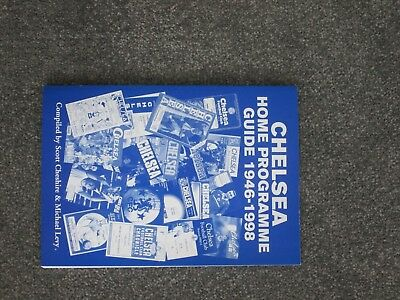 Chelsea Home Programme Guide 1946-1998.