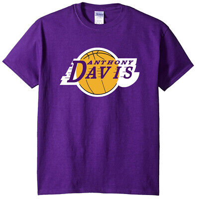 Anthony Davis AD The Brow Los Angeles Lakers LOGO T-Shirt