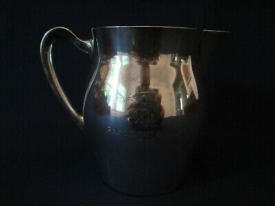1962 PRESIDENTS CUP PITCHER! Vintage POOLE STERLING 925 silver: PAUL REVERE: exc
