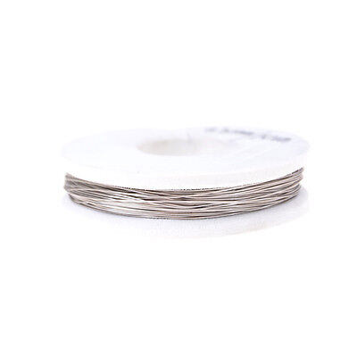 High-quality 0.3mm Nichrome Wire 10m Length Resistance Resistor AWG Wire J *FR