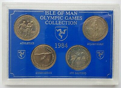 1984 Isle of Man Olympic Games Collection Four Crown Collection [17]