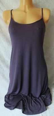 Ladies Indigo Sky Purple Jersey Soft Comfy Night Dress Wear Nightie Chemise Bnwt