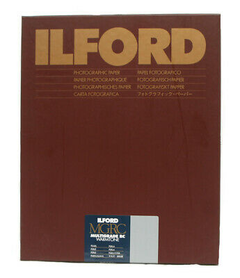Ilford Warmtone Resin Coated 10x8 25 Pearl B+W Paper