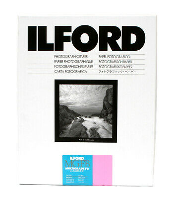 Ilford Cooltone MGFB Gloss 8x10  (20.3x25.4cm) 25 Sheets