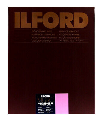 Ilford Multigrade Warmtone Resin Coated Gloss 10x8 25  Sheets