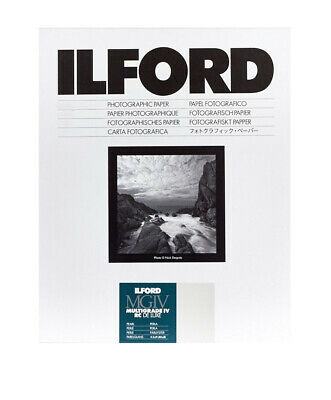 Ilford MGIV RC Deluxe Pearl Size: 9½ x 12 in - 24 x 30.5 cm 10 Sheets