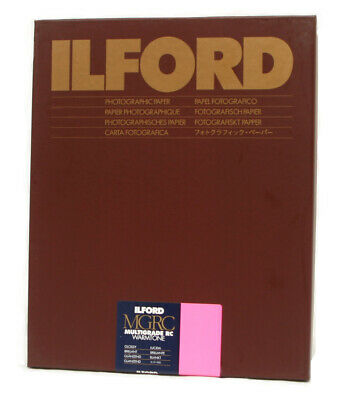 Ilford MGRC Warmtone Glossy Size: 9½ x 12 in - 24 x 30.5 cm 10 Sheets
