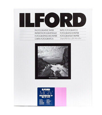 Ilford MGIV RC Deluxe Gloss Size: 4 x 5 inches, 25 Sheets
