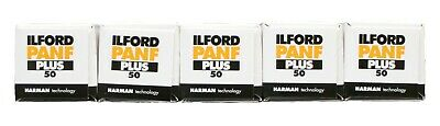 Ilford Pan F 120mm Black & White  Film Pack of 5