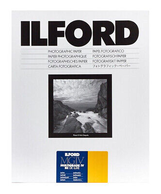 Ilford MGIV RC Deluxe Satin Size: 12 x 16 in - 30.5 x 40.6 cm 50 Sheets