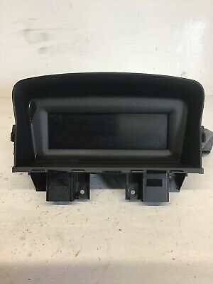Chevrolet Cruze 2012 Display Screen Information Display 96983185 22824480G