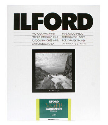 Ilford MGFB Classic Matt 12x16in 30.5 x 40.6cm 10 Sheets