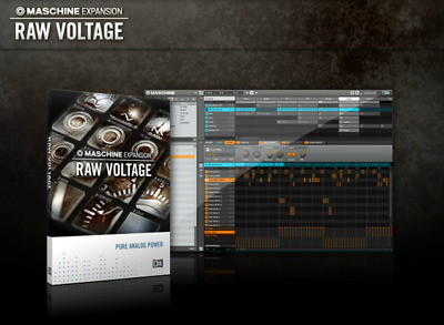 Native Instruments RAW VOLTAGE Samples Expansion | License | Register w/NI