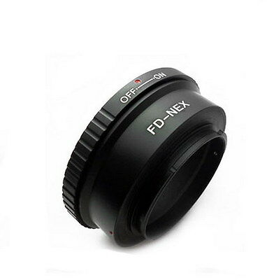 Brand NEW Mount adapter For Canon FD  lens to Sony E- Mount digital cameras