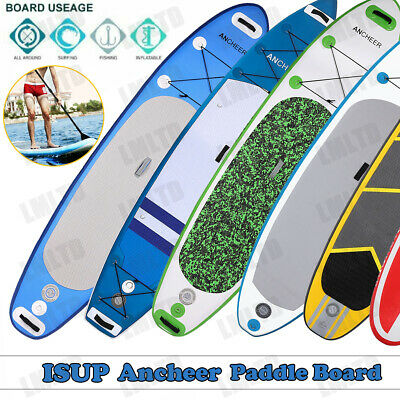 ADJUSTABLE PADDLE BOARD ISUP 10ft Inflatable Stand Up Board SUP