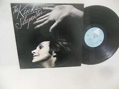 THE KINKS exc 1977 vinyl lp SLEEPWALKER