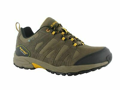 Hi-Tec Alto II Low Mens Brown Waterproof Hiking Walking Shoes Trainers
