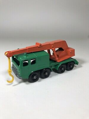 Matchbox 8-Wheel Crane By Lesney Series No 30 Vintage Diecast 8 Wheel