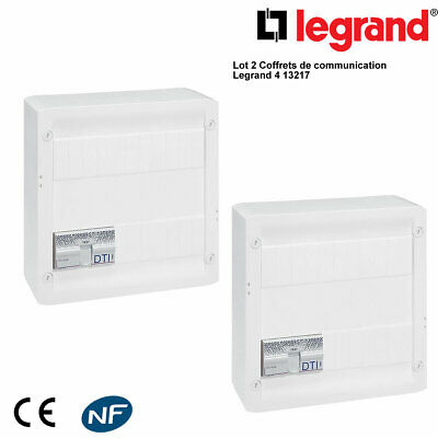 LOT de 2 Coffrets de communication sans brassage Legrand 413217