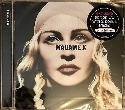 MADONNA - MADAME X HMV Special Edition UK CD album with 2 BONUS TRACKS SEALED