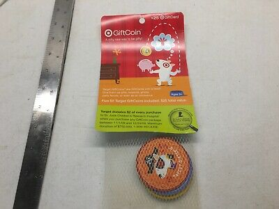 No Cash Target Gift Card New Unscratched Bullseye Spot Dog 2009 Giftcoin Coins