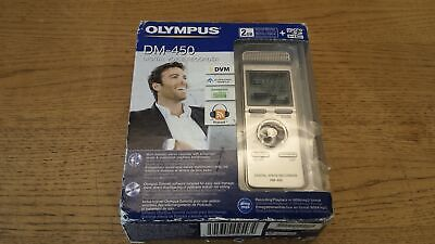 NEW Olympus DM-450 2GB Digital Voice Recorder Dictaphone