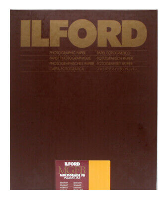 Ilford Warmtone Fibre Base Semi Matt 12x16 (30.5x40.6) 10 Sheets