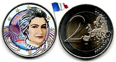 France - 2 Euro 2018 (Simone Veil - Color)
