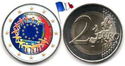 France - 2 Euro 2015 (30 years of the EU flag - Color)