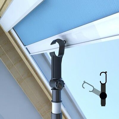 Designed for VELUX.Telescopic Window Pole Opener for Skylight Roof Window/Blind