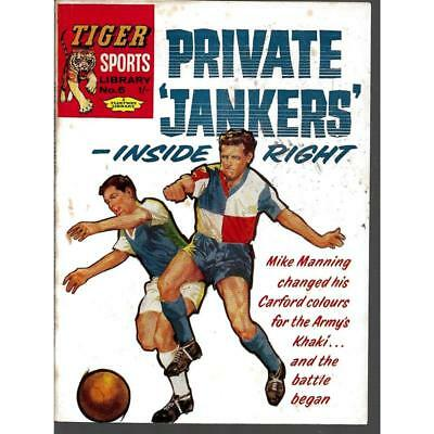 TIGER SPORTS LIBRARY #5 Private Jankers Inside Right 1961 1st Print Comic RARE