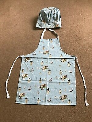 Kids Cooking Apron & Chefs Hat Gingerbread Pirate Cooksmart 100% Cotton Kitchen