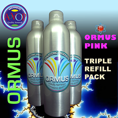 MULTI-BUY: ORMUS PINK: monoatomic supplement (3 x 250 ml) REFILL BOTTLES